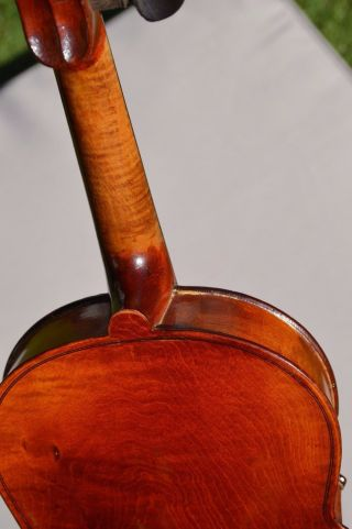 Old French Violin  A.  Salvator  Jtl One Piece Back photo