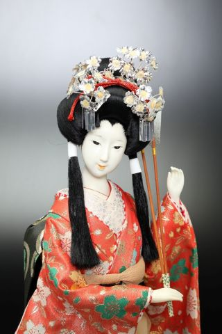 Vintage Showa Japanese Geisha Doll - Princess - photo