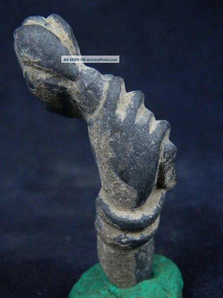 Ancient Schist Stone Bodhasattva Hand Gandhara/gandharan 100 Ad No Resrv Stn616 Roman photo