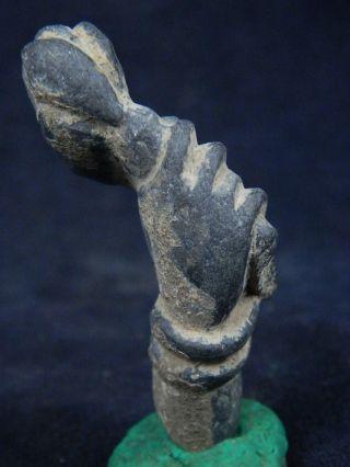 Ancient Schist Stone Bodhasattva Hand Gandhara/gandharan 100 Ad No Resrv Stn616 photo