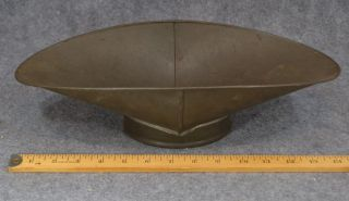 Scale Pan Tin Bucket Large Antique 1800 - 1900 photo