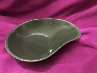 1950 Eva Zeisel Red Wing Town & Country Mid Century Modern Pottery Comma Bowl photo