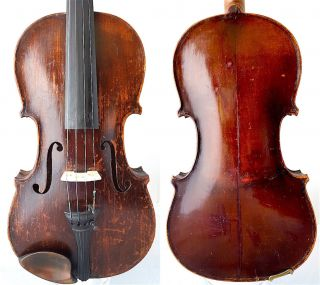 Fine 4/4 Antique Violin Label: Francesko Ruggeri 1690 Old Wood 小提琴 СКРИПКА Geige photo