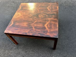 Outstanding Mid Century Danish Modern Rosewood Coffee Table photo