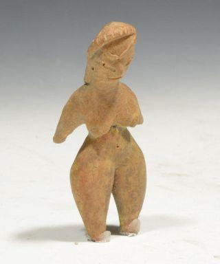 Pre - Columbian Tlatilco Pottery Pretty Lady Circa 1100 To 500 Bc photo