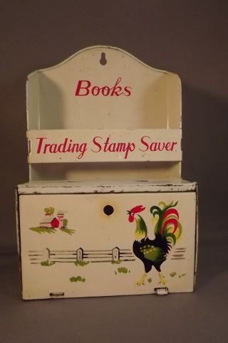 Antique Trading Stamp Tin photo