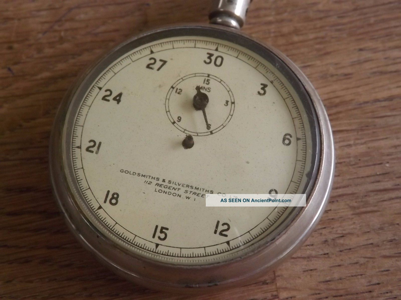 Goldsmiths & Silversmiths Antique Stopwatch Other Antique Science Equip photo