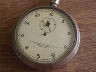 Goldsmiths & Silversmiths Antique Stopwatch photo