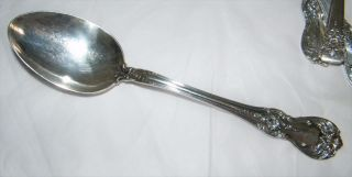 Towle Sterling Old Master Serving Or Table Spoon - 8 1/2
