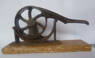 Rare Antique Cast Iron Enterprise Mfg Cork Press 1 1867 Medicine Wine Bottle photo