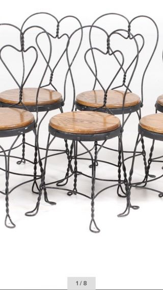 Furniture   Chairs   1900 1950   See More Vintage Ice Cream Parlor Chair