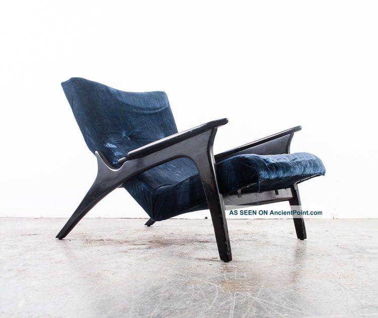 Mid Century Modern Lounge Chair Adrian Pearsall 900 - Lc Vladimir Kagan Danish Mcm Mid-Century Modernism photo