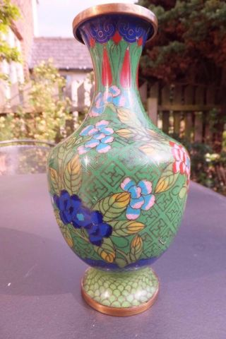 Chinese Cloisonne Large 8