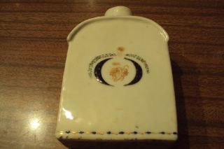 Antique Xviii Ct Chinese Export Porcelain Tea Caddy photo