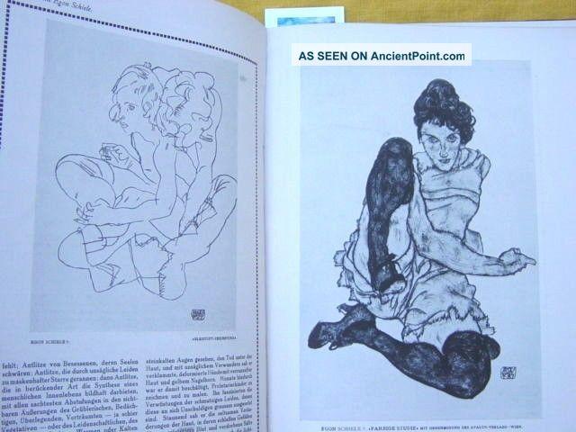 3 Art Nouveau Deutsche Kunst Und Dekoration 1919 Books.  Egon Schiele Memorial Art Nouveau photo