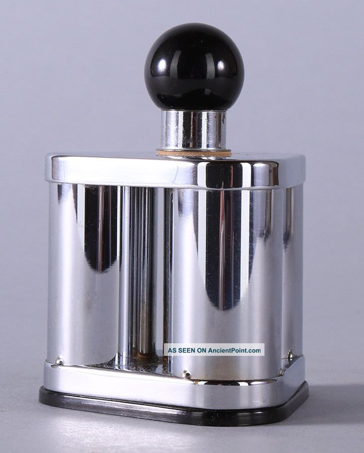Art Deco Machine Age 1930s Dunhill ' S Silent Flame Table Lighter Streamlined Form Art Deco photo
