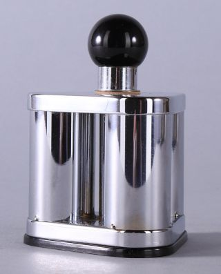 Art Deco Machine Age 1930s Dunhill ' S Silent Flame Table Lighter Streamlined Form photo