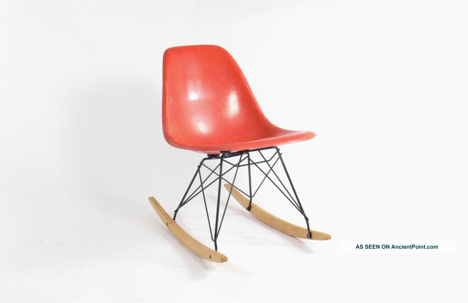 Eames For Herman Miller Fiberglass Side Chair Rocker - Rsr Mid-Century Modernism photo