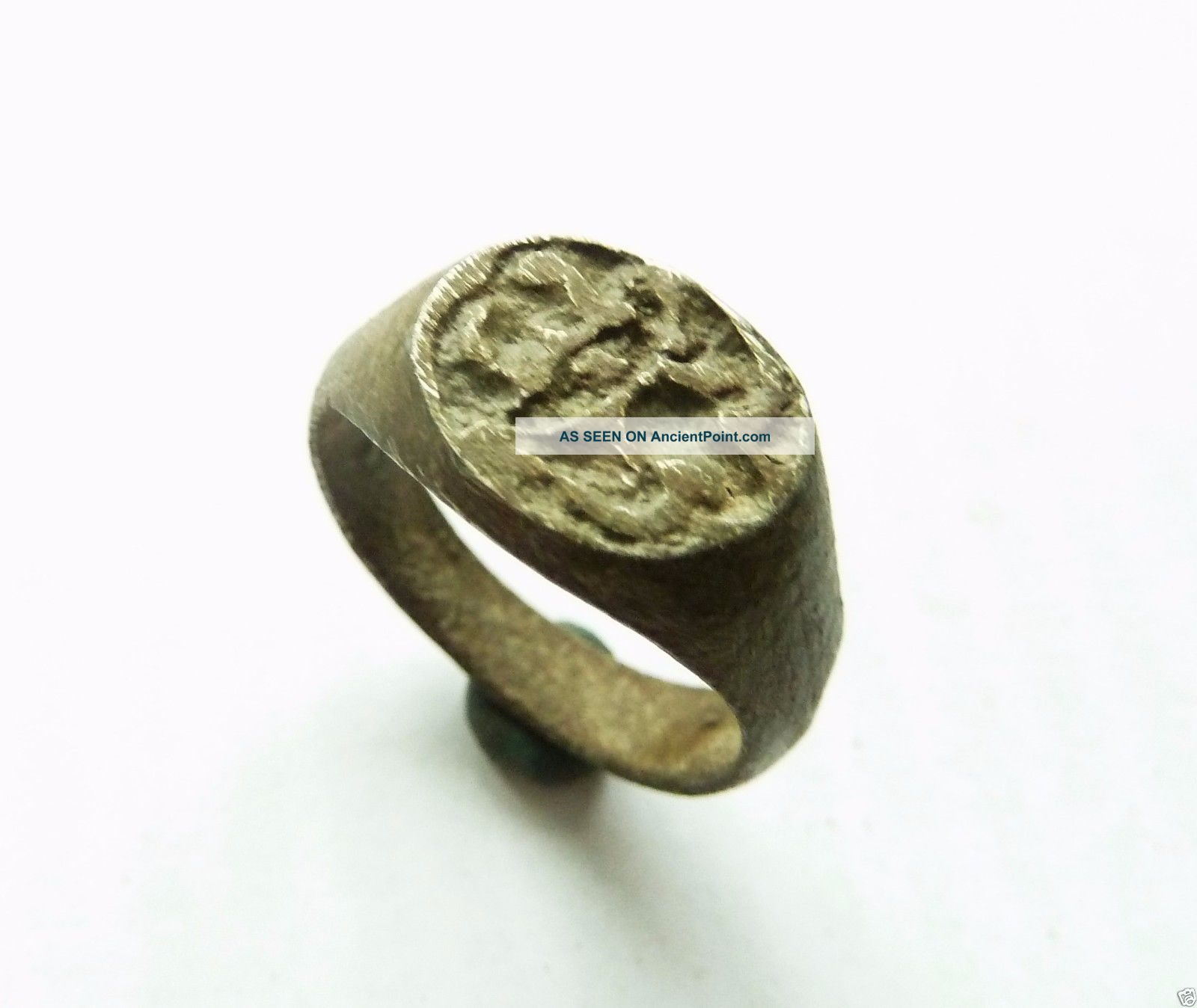 Post - Medieval Bronze Seal - Ring (363). Other Antiquities photo