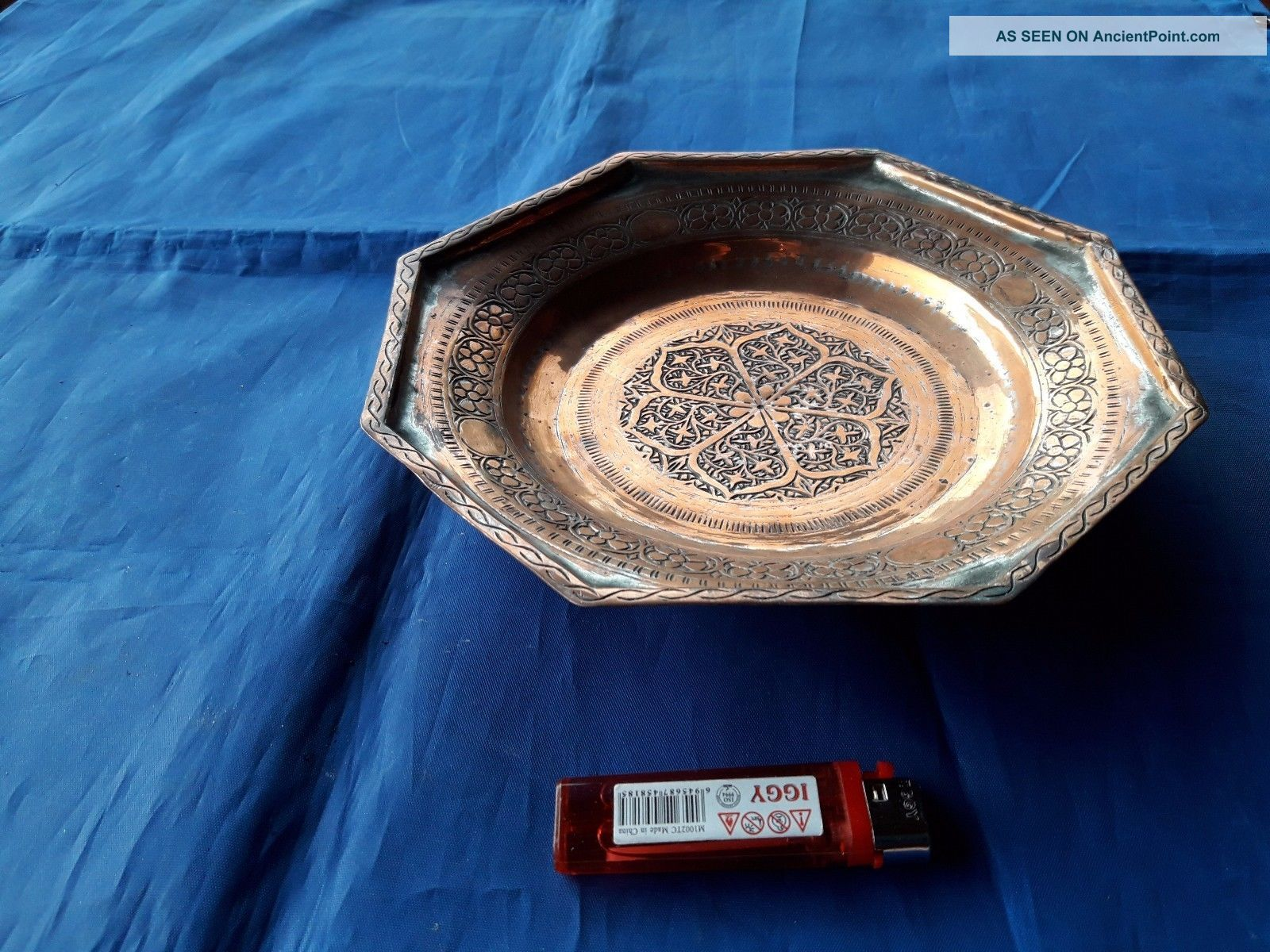 Hand - Crafted Fruit Tray From The Period Of The Ottoman Empire Xviii Century 2. Other Antique Home & Hearth photo