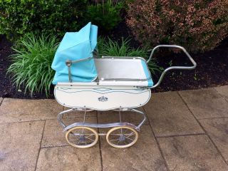 Vintage 1950s Coronet Baby Doll Buggy Carriage Pram photo
