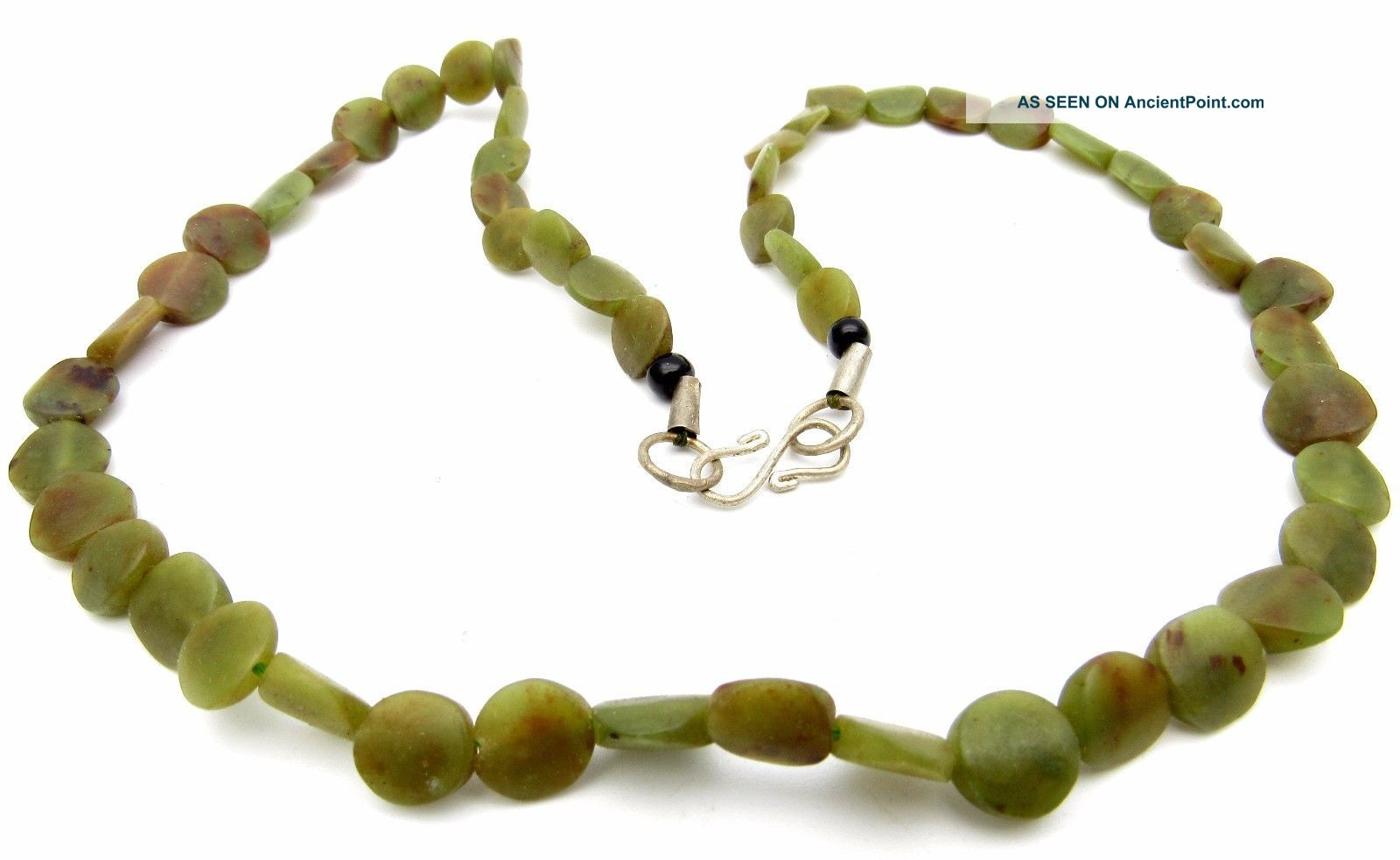Ancient Glass Beaded Necklace - Very Rare Stunning Wearable Artifact - J168 Roman photo
