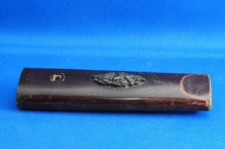 Real Old Japanese Samurai Tsuka (handle) Of Katana (sword) / Edo 横1 photo