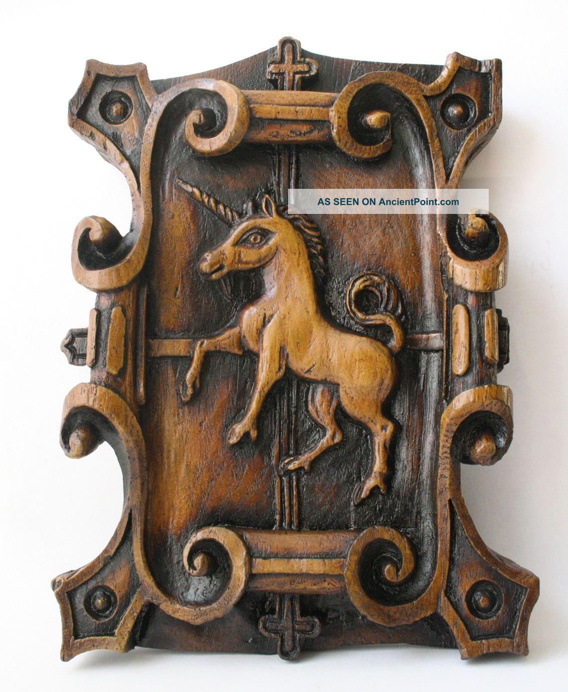 Unicorn Medieval Plaque Reproduction Carving Gothic Mythical Magic Historic Gift See more Unicorn Medieval Plaque Reproduction Carving G... photo