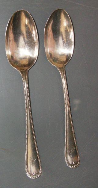 2 Sterling Silver Gorham
