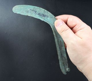 Sickle Or Curved Knife,  Bronze,  Late Bronze Age,  Urnfeld Period,  1000 Bc photo