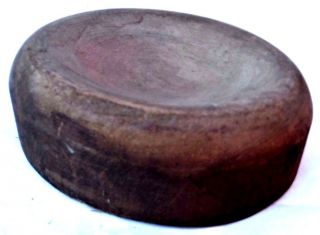 Antique Wood Wooden Millenery Hat Form Block Mold Crown Acme photo