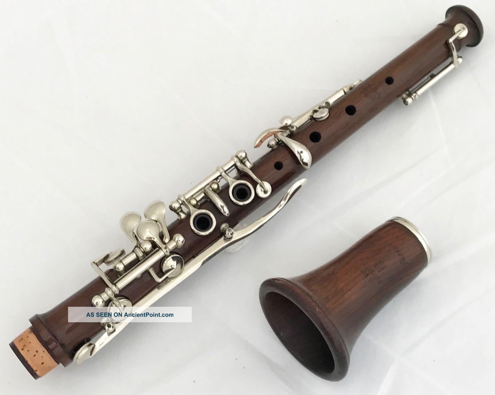 Unique Palisander Pastoral (piccolo) Oboe Triebert Paris In F - Complete Restored Wind photo