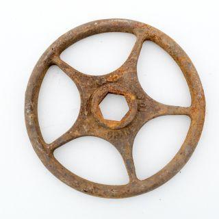 Vintage Cast Iron Crane 10