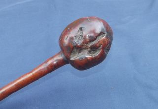 Antique Fijian Ula Club - Polynesian War Club - Fiji Tonga Maori - Great Patina photo
