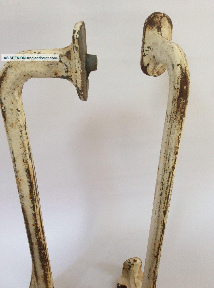 Antique Cast Iron Sink Brackets Quirky Vintage Shelving