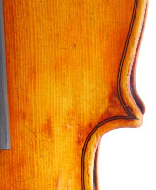 Rare,  Antique Antonio Zebroni Italian Old 4/4 Master Viola - Geige,  Fiddle photo