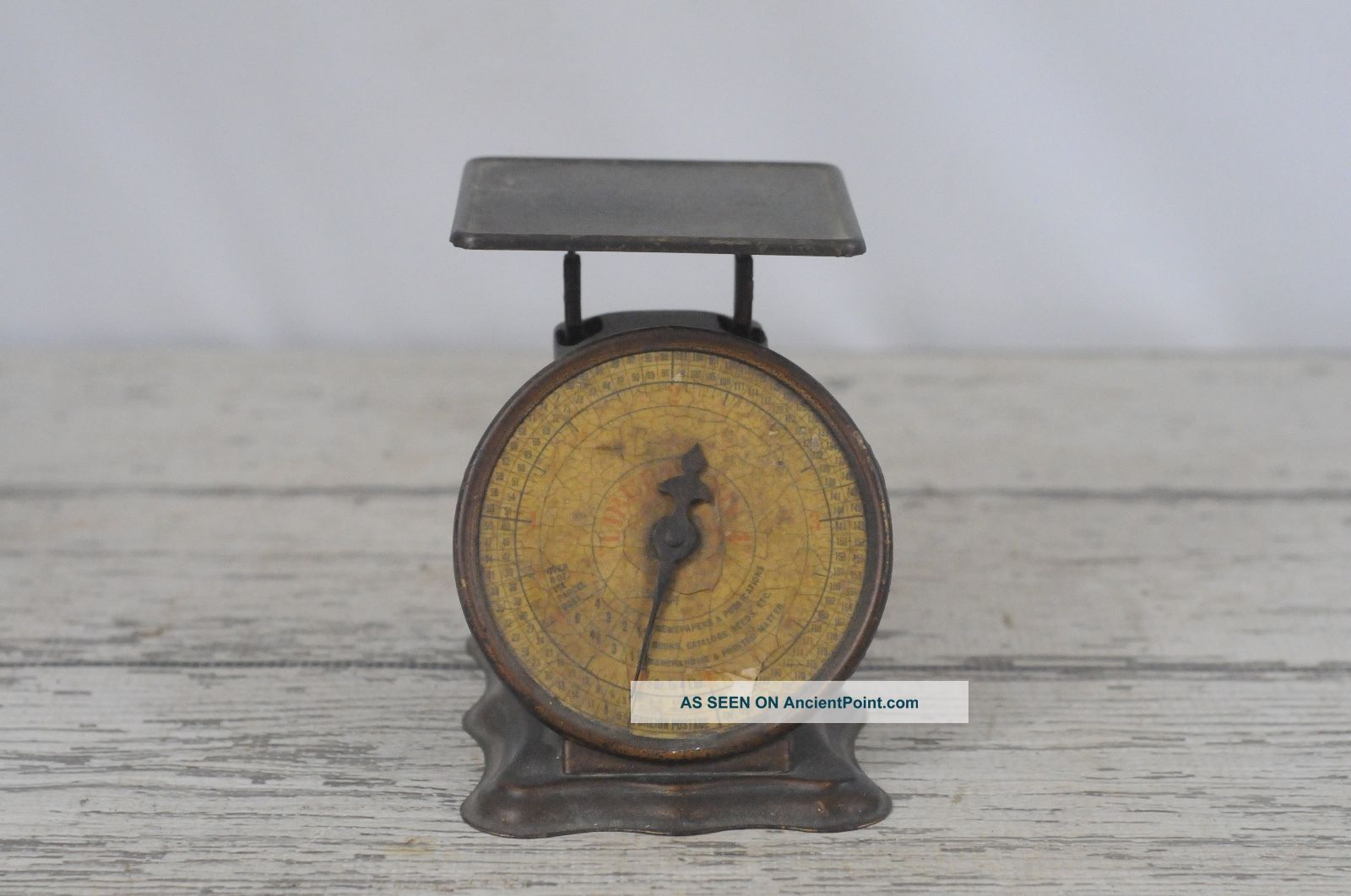 Vintage Triner Postal Scale Model Liberty 4 Postal Scale 1oz - 4lbs Early 1900s Scales photo