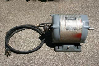 Vintage Craftsman 1 Hp Capacitor Motor Single Phase 3450 Rpm Table Saw photo