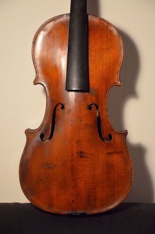 Interesting Old Violin From France? Belgium? photo