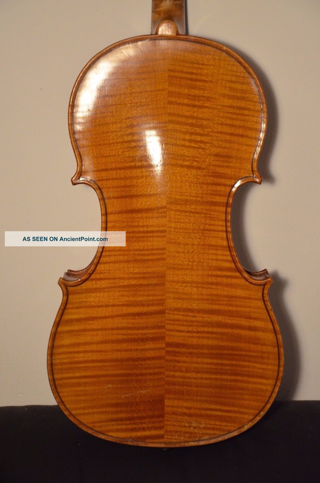 Old French Violin  A.  Deblaye  With Case And Bow String photo