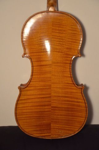 Old French Violin  A.  Deblaye  With Case And Bow photo