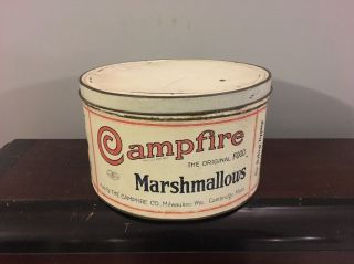 Campfire Marshmallows Vtg 10