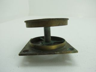 2,  1/4 Inch Mushroom Type Bronze Boat Cowl Vent Boat Ship Brass (2534) photo