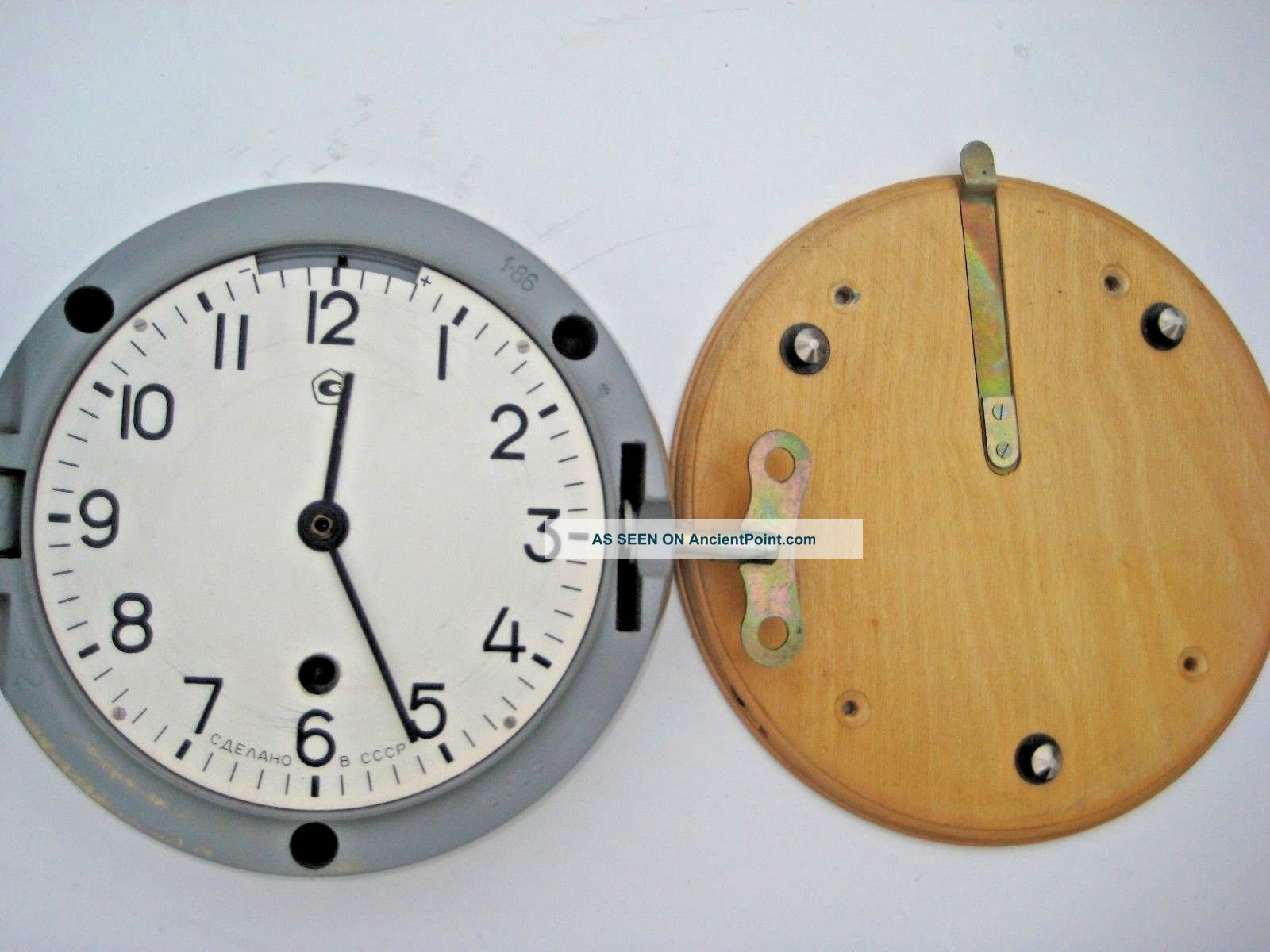 Soviet Russian Vostok Boat/ship Submarine Navy Cabin Clock Clocks photo