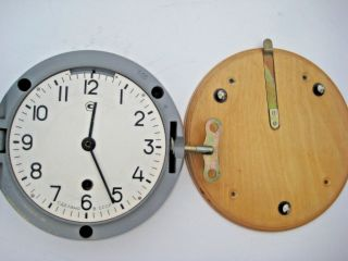 Soviet Russian Vostok Boat/ship Submarine Navy Cabin Clock photo