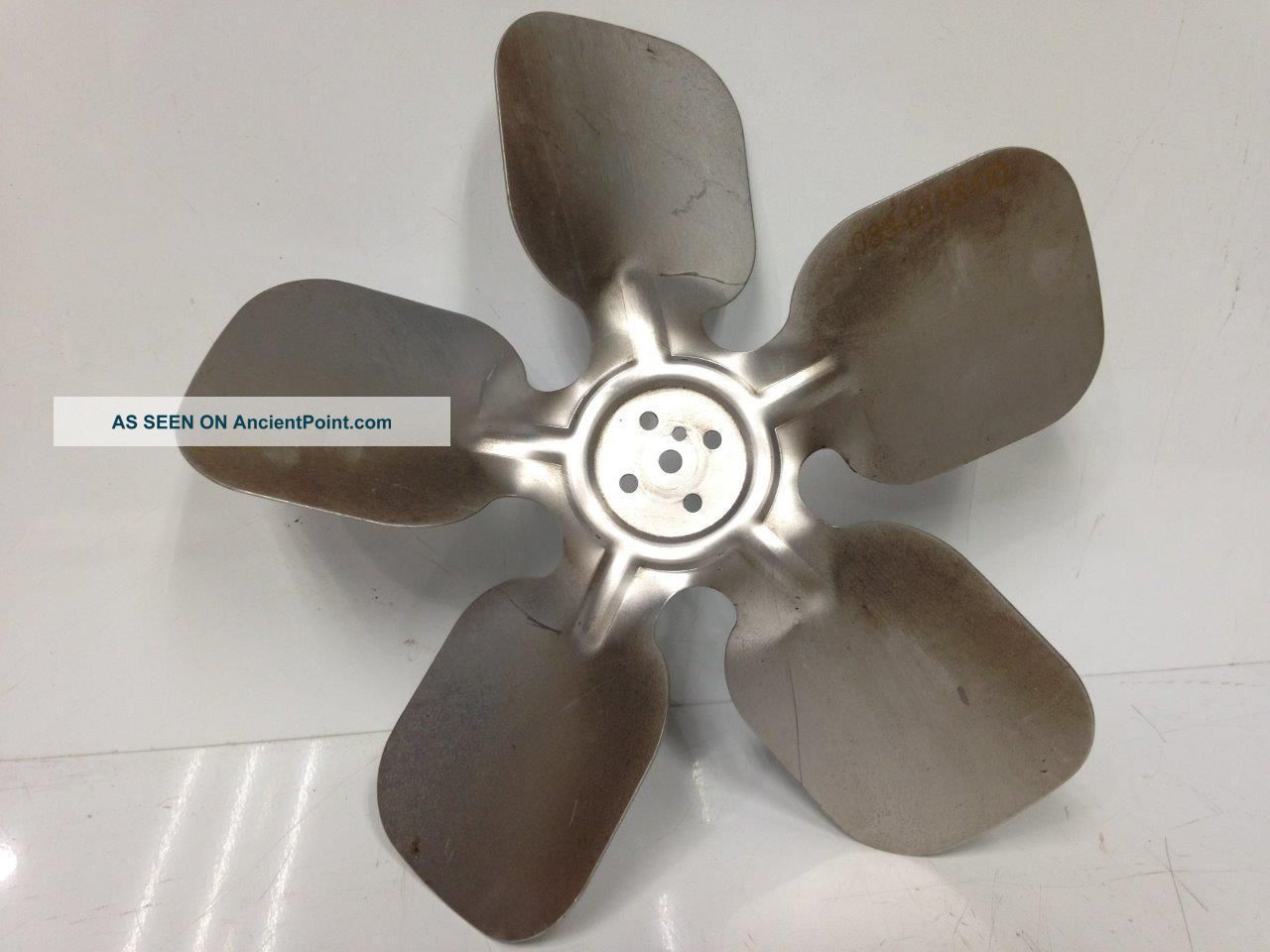 9in Industrial Steampunk Repurpose Vintage Fan Blade Propeller Craft Art Diy Other Mercantile Antiques photo