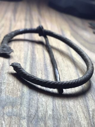Viking Pennannular Brooch.  Authentic Artefact. photo