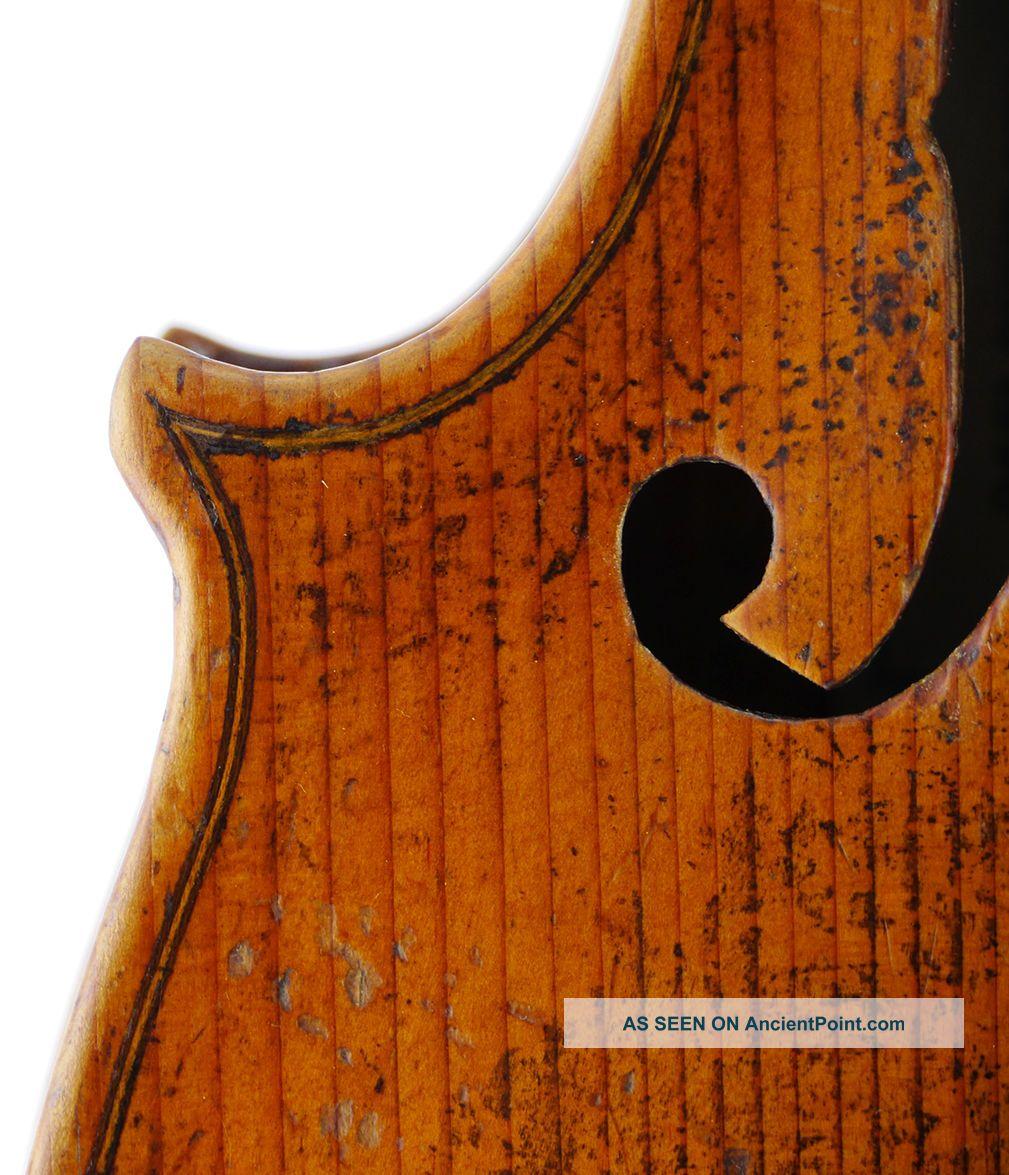 Fine,  Antique Giovanni Luppi Italian Old 4/4 Master Violin - Geige,  Fiddle 小提琴 String photo
