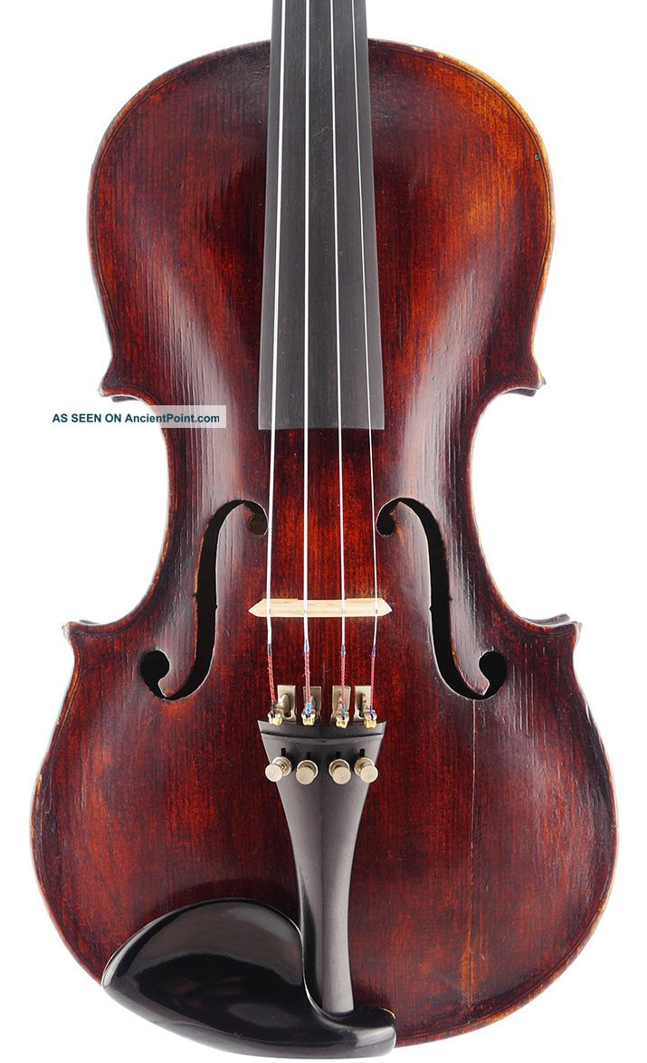 , Antique 4/4 Old Italian Violin - Ready To Play - Geige,  Fiddle 小提琴 String photo