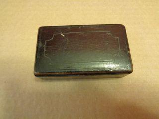 Antique Primitive Pill Or Trinket Small Paper Box photo